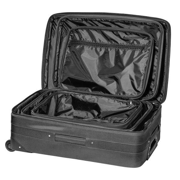 Packenger Easy Traveller Kofferset schwarz innen
