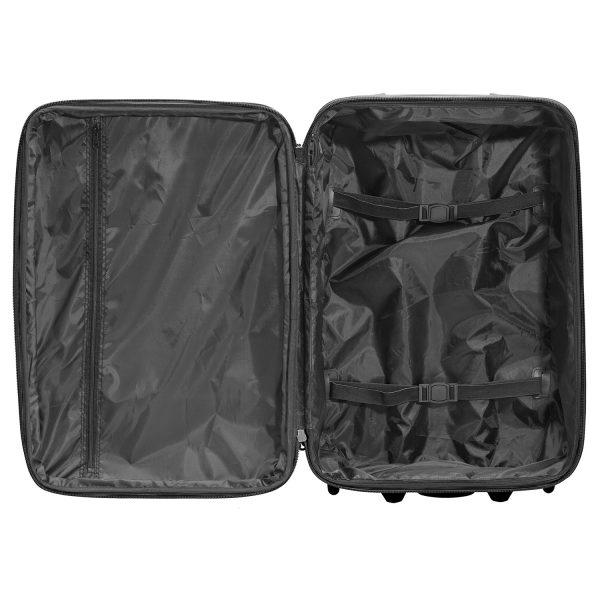 Packenger Easy Traveller Kofferset schwarz
