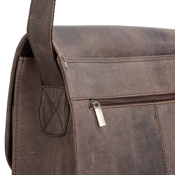 Aslang Messenger Bag   Packenger Ledertaschen