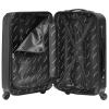 Packenger Line Hartschalenkoffer schwarz
