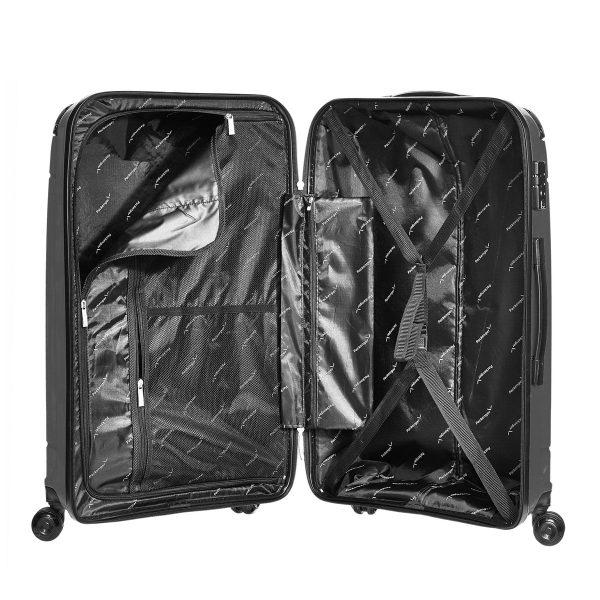 Packenger Hartschalenkoffer Silent schwarz