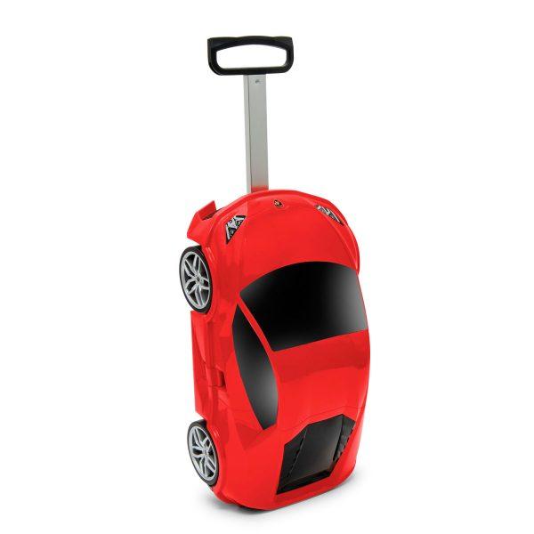 Packenger Kinderkoffer Lamborghini rot
