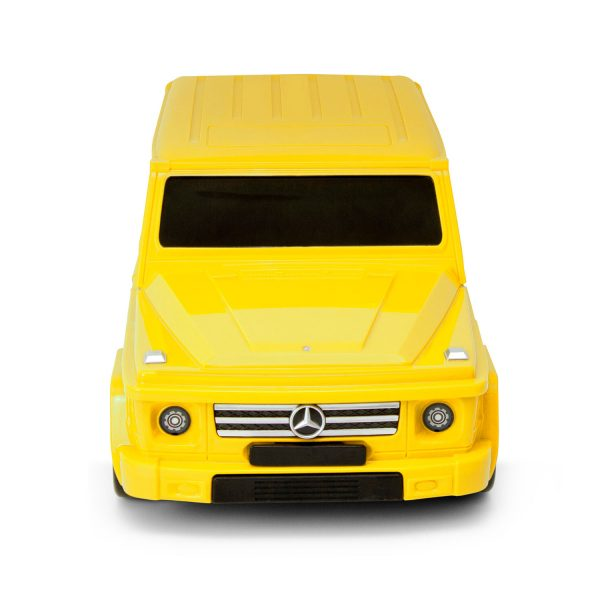 Packenger Kinderkoffer Mercedes gelb