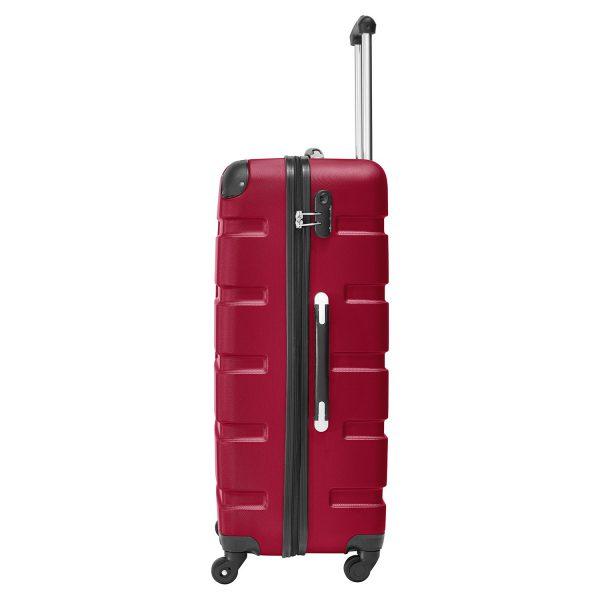 Packenger Hartschalenkoffer Marina rot