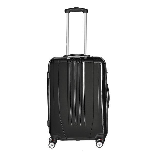 Packenger Hartschalenkoffer Stone schwarz