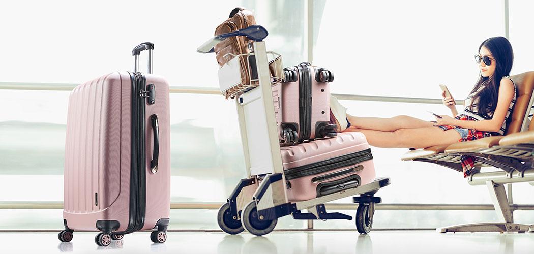 Koffer-Sets, stylisch reisen, bequem ineinander zu lagern